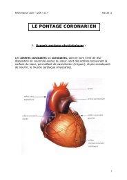 LE PONTAGE CORONARIEN - CHU Montpellier