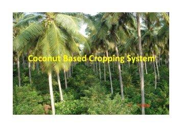 Coconut Based Cropping System (.pdf) - TNAU Agritech Portal