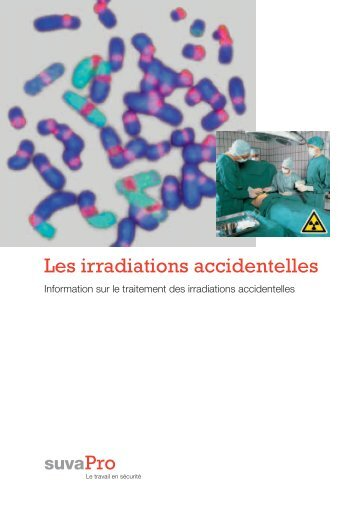 Les irradiations accidentelles - Suva