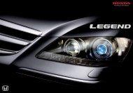 Télécharger le catalogue Honda Legend