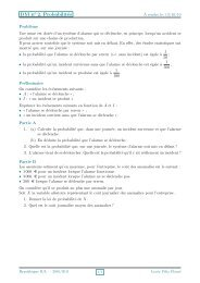 DM n°2: Probabilités conditionnelles - Mathématiques à Éboué ...