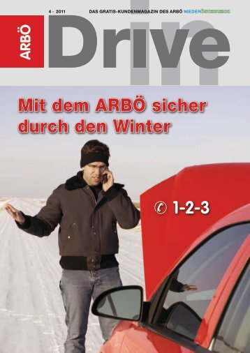 Mit dem ARBÖ sicher durch den Winter 1-2-3