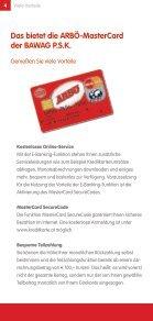 ArbÖ-Mastercard mit Tankbonus - Seite 4