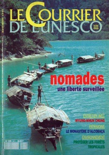 Nomades: une liberté surveillée; The UNESCO ... - unesdoc - Unesco