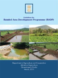 RADP - Department of Agriculture & Co-operation