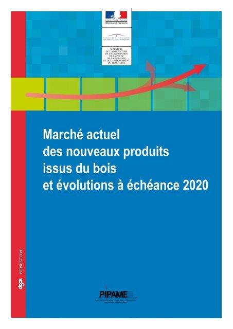 Marché Actuel Des Nouveaux Produits Issus Du Bois Et