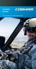 Capability Booklet - Cobham plc