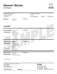2013 FA Evaluation Sheets.pub - AG Web Services