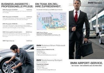PDF, 1486k - BMW Niederlassung Stuttgart