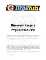 Discovery Rangers - AG Web Services