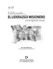 Edificando El Liderazgo Misionero - AG Web Services