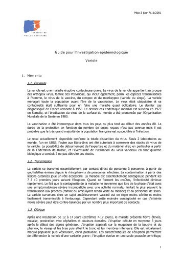fichier pdf - Institut de veille sanitaire