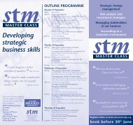 STM Leaflet 2007.qxp - Oxford Brookes University