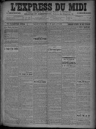 25 Février 1910 - Bibliothèque de Toulouse