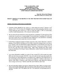 18-01-2013 - Department of Agriculture & Co-operation
