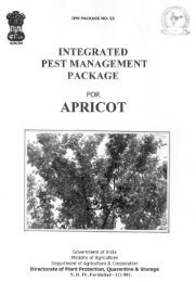 Apricot - Directorate of Plant Protection Quarantine and Storage ...