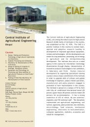 Calendar for PDF.pmd - Indian Council of Agricultural Research
