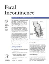 Fecal Incontinence - Andrew Gottesman, MD