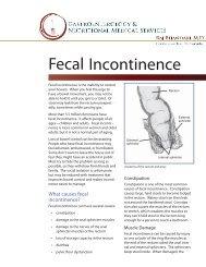 Fecal Incontinence - Dr. Bhandari