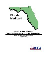 Practitioner Services Coverage and Limitations Handbook