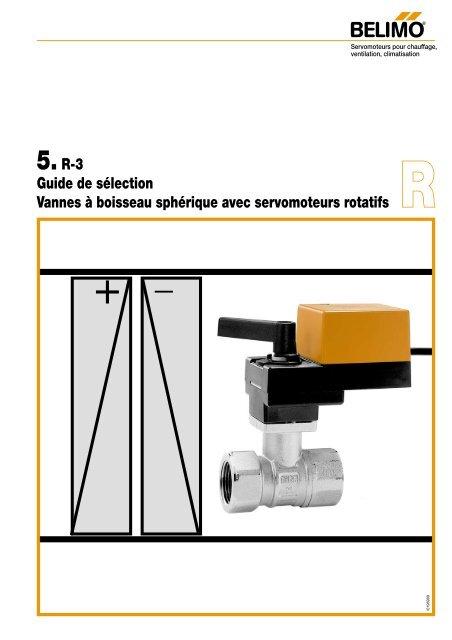 R 3 Guide De Slection Vannes Boisseau Sphrique