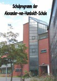 Schulprogramm - Alexander-von-Humboldt-Schule - in Neumünster