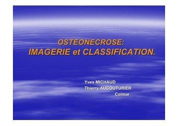 IMAGERIE et CLASSIFICATION. - GECO