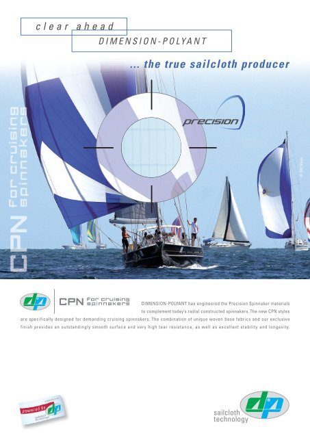 CPN Spinnaker - Sailcloth Technology by DIMENSION-POLYANT