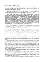 ENTRETIEN – ANTONIO NEGRI Actuellement professeur ... - Lasca.fr