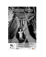 Programme Présences vodou 13-14 mai - Get a Free Blog