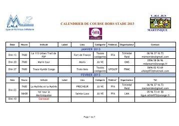 Calendrier Des Courses Hors Stade.Liguemque Athle Com Magazines