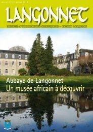 Bulletin, Janvier 2013 - Langonnet