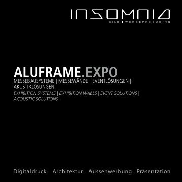 Insomnia - Aluframe EXPO