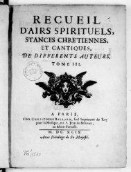 Fleury / François-Nicolas / 0220. Airs spirituels à deux parties ... - Free