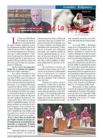 Les visées de la papauté Les visées de la papauté Les visées de la ...