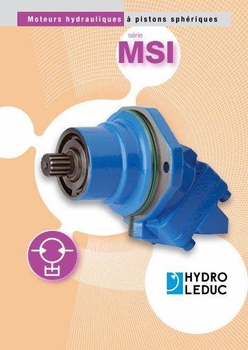 Moteurs hydrauliques à pistons sphériques - Total Hydraulics BV
