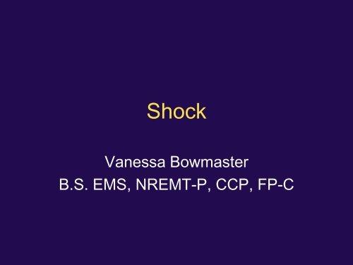 The School of Shock