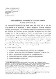 Prof. Dr. Martina Nied Curcio Università degli Studi Roma Tre ... - AIG
