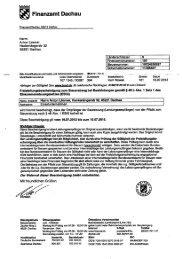 Finanzamt Dachau - Werbetechnik - Limmer