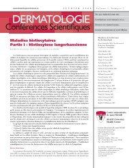 Maladies histiocytaires. Partie I : Histiocytose langerhansienne