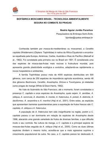 Beatriz Paranhos - Embrapa