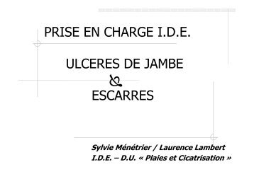 (Microsoft PowerPoint - cours ulcères et escarres.ppt) - Index of