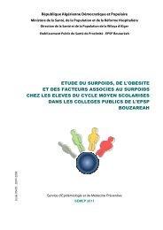 SEMEP - EPSP Bouzaréah