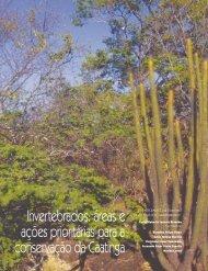 áreas e ações prioritárias para a conservação da Caatinga - Ainfo