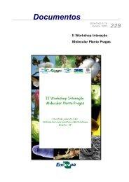 Documentos II Workshop Interação Molecular ... - Ainfo - Embrapa