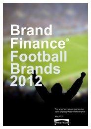 brandfinance football brands 2012