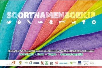 Soortnamenboekje - Provincie West-Vlaanderen