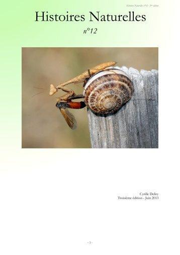 n°12 - Histoires Naturelles