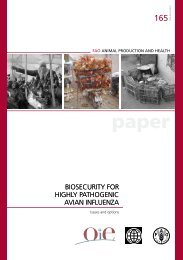 Biosecurity for HPAI Issues and Options - Avian Influenza Toolkit