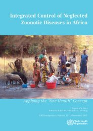 Integrated control of neglected zoonotic diseases in Africa: Applying ...